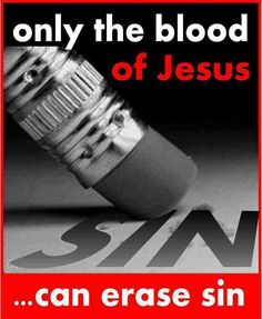 His blood cleanses us from all sin