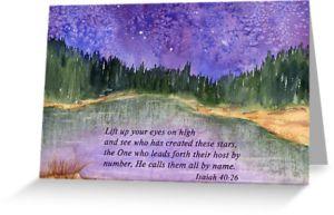 Isaiah 40.26