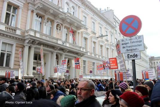 2 Protest Viena 16 ianuarie 2016
