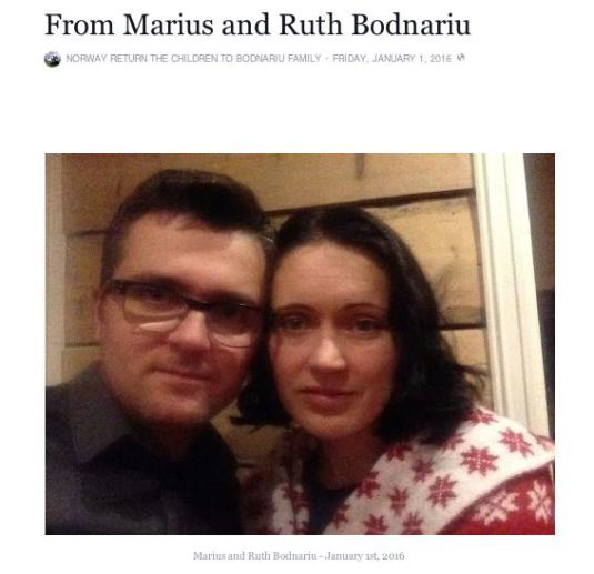 Marius & Ruth Bodnariu Mesaj 1 Ianuarie 2016