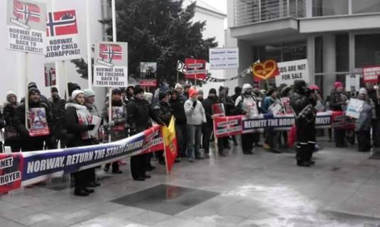 Protest Bratislava Slovakia
